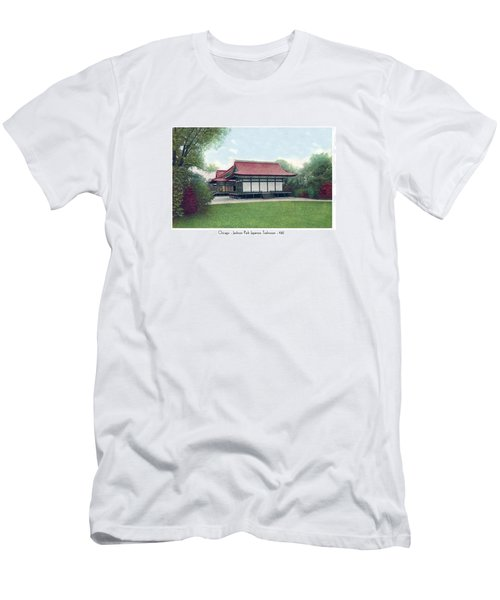 Chicago - Japanese Tea Houses - Jackson Park - 1912 Men's T-Shirt (Athletic Fit)