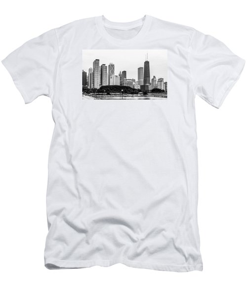 Chicago Skyline Architecture Men's T-Shirt (Athletic Fit)