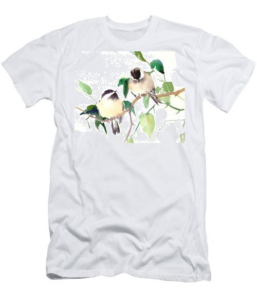Chickadees Men's T-Shirt (Athletic Fit)