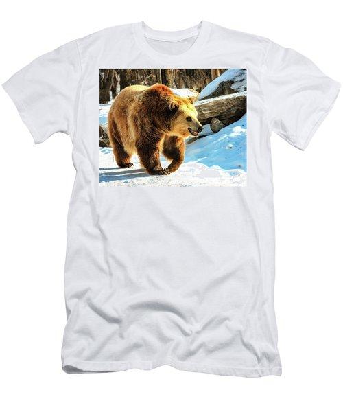 Chief Walking Bear Men's T-Shirt (Athletic Fit)