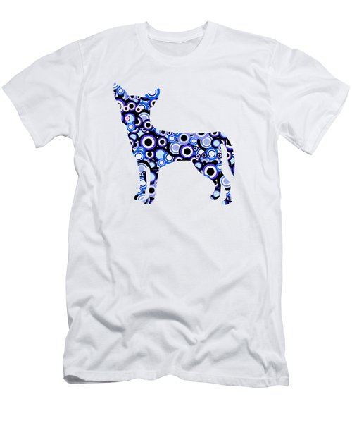 Chihuahua - Animal Art Men's T-Shirt (Athletic Fit)