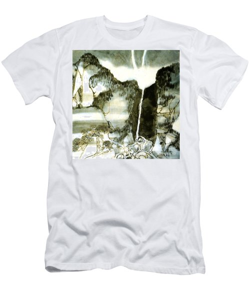 Chinese Landscape #2 Men's T-Shirt (Athletic Fit)