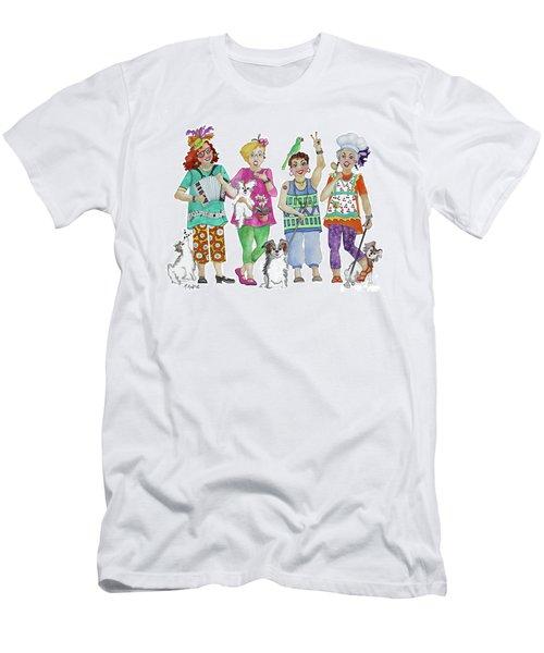 Chix Men's T-Shirt (Slim Fit) by Rosemary Aubut