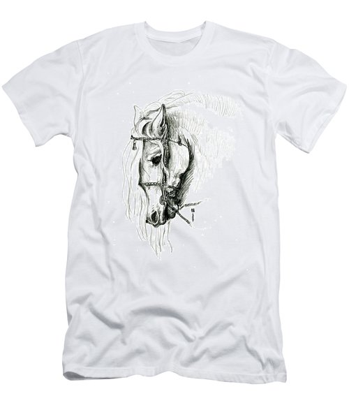 Chomping At Bit - Sketch1 Men's T-Shirt (Athletic Fit)