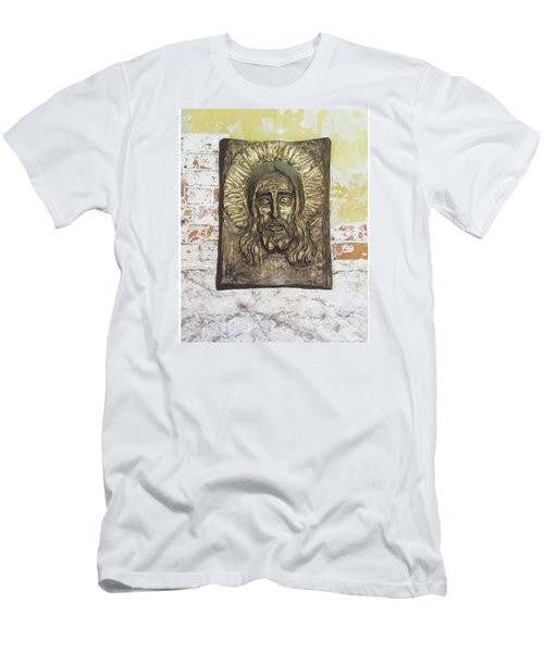 #christ #christians #religion #face Men's T-Shirt (Athletic Fit)