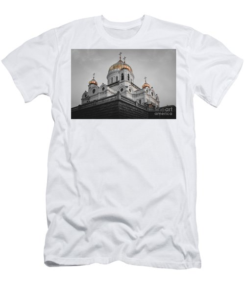 Christ The Savior Cathedral Men's T-Shirt (Athletic Fit)