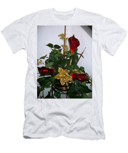 Christmas Arrangemant Men's T-Shirt (Athletic Fit)