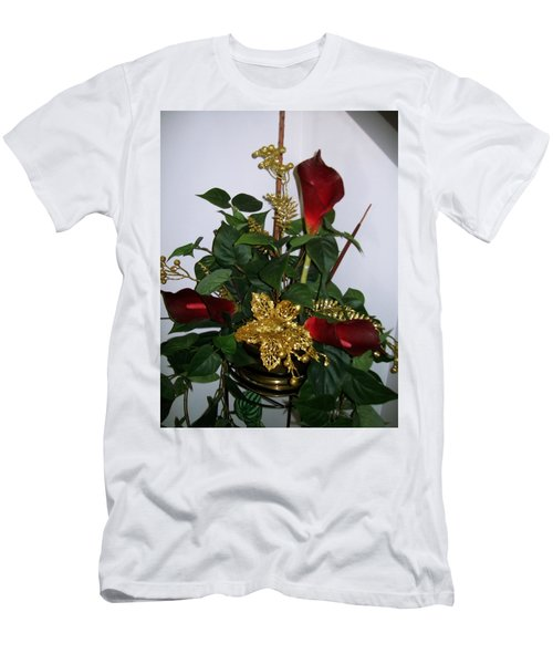 Christmas Arrangemant Men's T-Shirt (Athletic Fit)