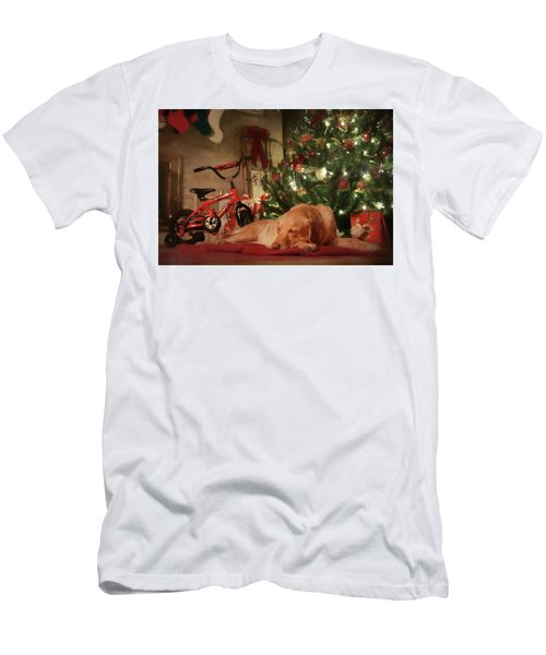 Men's T-Shirt (Slim Fit) featuring the photograph Christmas Eve by Lori Deiter
