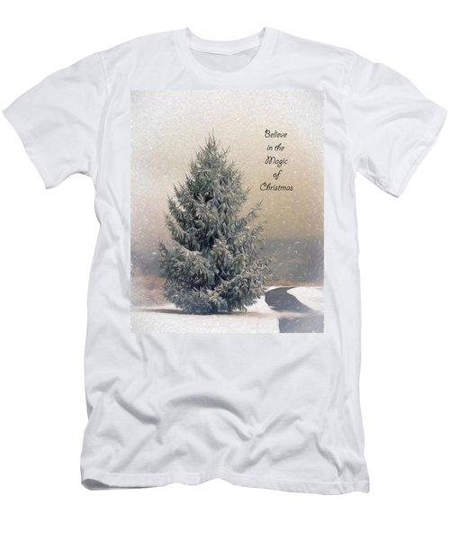 Christmas Magic Men's T-Shirt (Athletic Fit)
