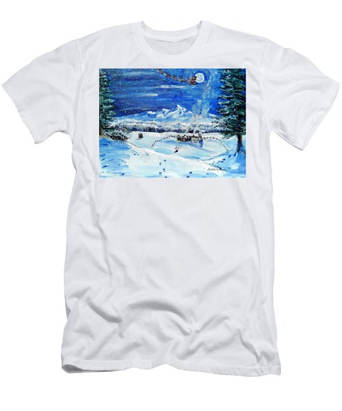 Christmas Wonderland Men's T-Shirt (Athletic Fit)