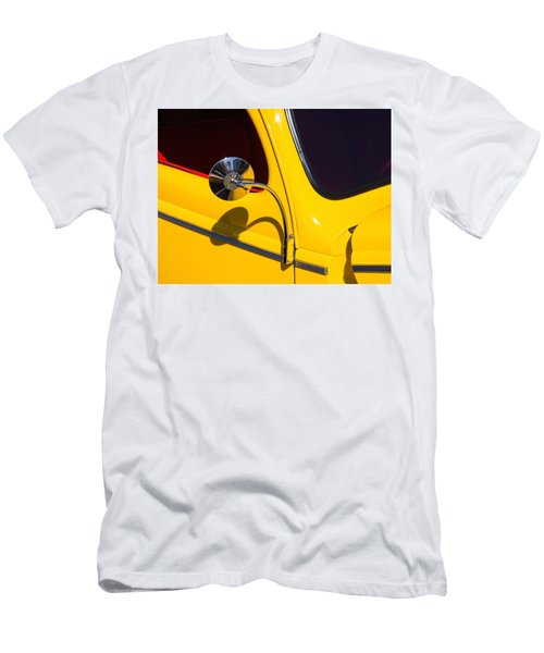 Chrome Mirrored To Yellow Men's T-Shirt (Athletic Fit)