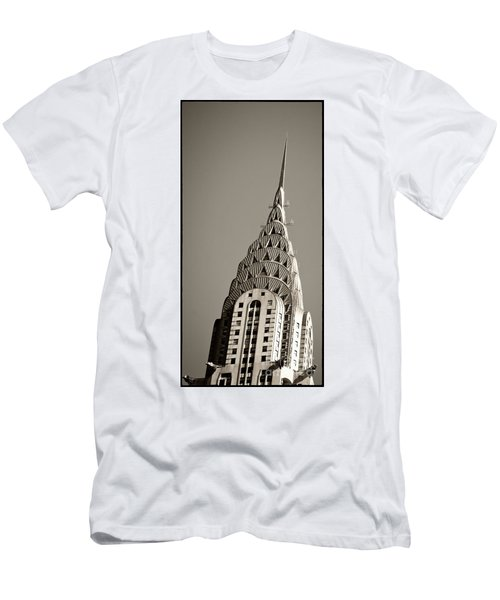 Men's T-Shirt (Athletic Fit) featuring the photograph Chrysler Building New York City by Juergen Held
