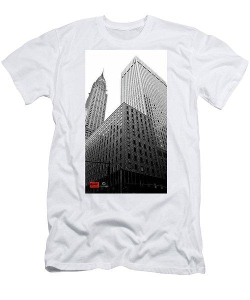 Chrystler Lofts Men's T-Shirt (Slim Fit) by Rennie RenWah