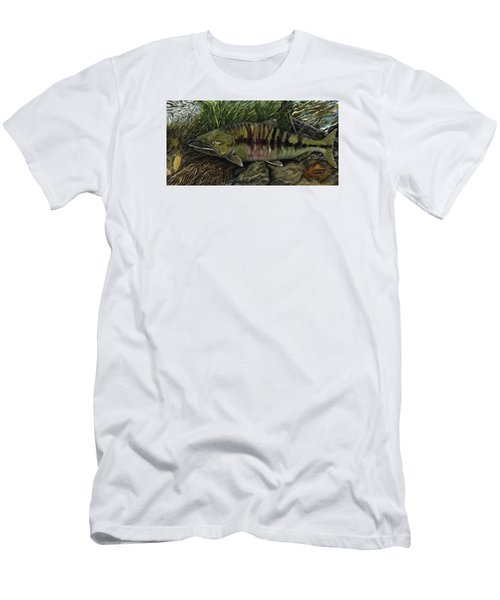 Chum Salmon Men's T-Shirt (Athletic Fit)