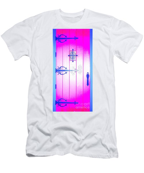 Church Door Men's T-Shirt (Athletic Fit)