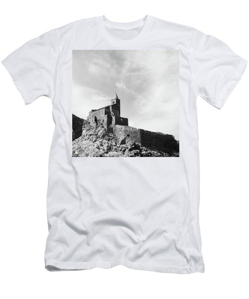 Church Of San Pietro II Men's T-Shirt (Slim Fit) by Joseph Westrupp