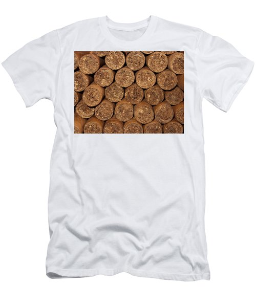 Cigars 262 Men's T-Shirt (Slim Fit) by Michael Fryd