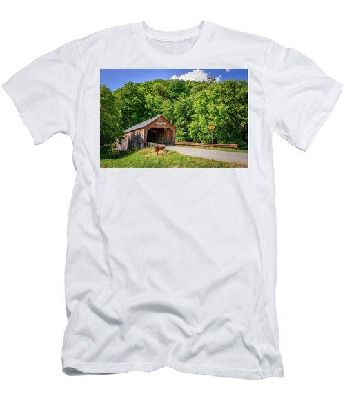 Cilley Bridge Men's T-Shirt (Athletic Fit)