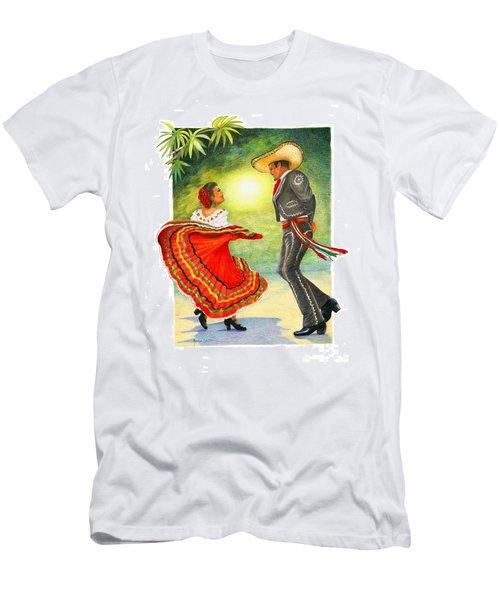 Cinco De Mayo Dancers Men's T-Shirt (Athletic Fit)