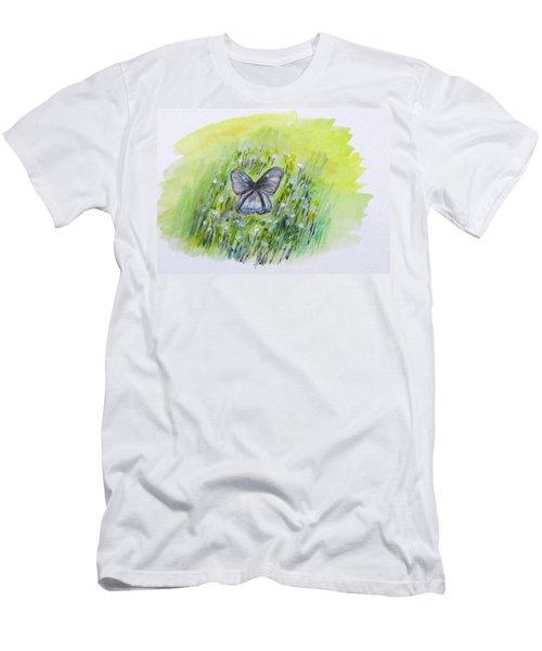 Cindy's Butterfly Men's T-Shirt (Slim Fit)