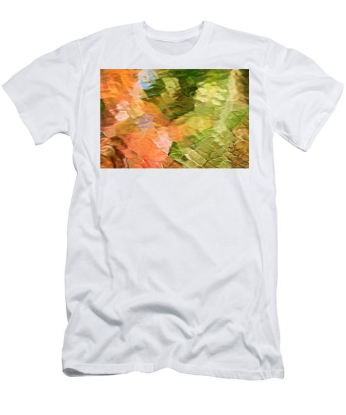 Cinnamon And Spice Mosaic Abstract Men's T-Shirt (Athletic Fit)