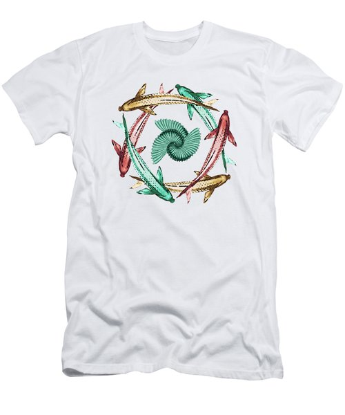 Circle Men's T-Shirt (Slim Fit) by Deborah Smith