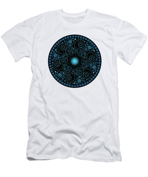 Circularium No 2705 Men's T-Shirt (Slim Fit) by Alan Bennington