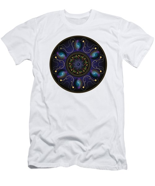 Circularium No 2707 Men's T-Shirt (Slim Fit) by Alan Bennington