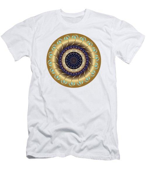 Circularium No 2708 Men's T-Shirt (Slim Fit) by Alan Bennington