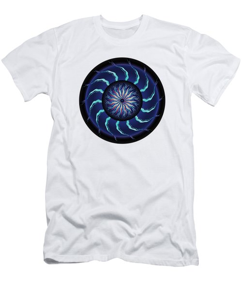 Circularium No 2711 Men's T-Shirt (Slim Fit) by Alan Bennington