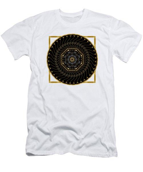 Circularium No 2712 Men's T-Shirt (Slim Fit) by Alan Bennington