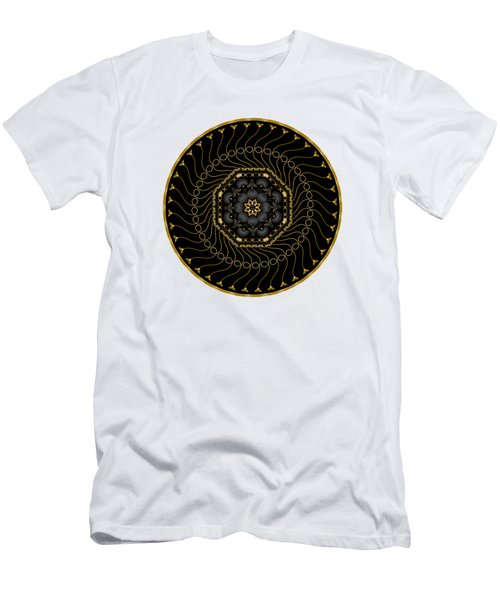 Circularium No 2713 Men's T-Shirt (Slim Fit) by Alan Bennington