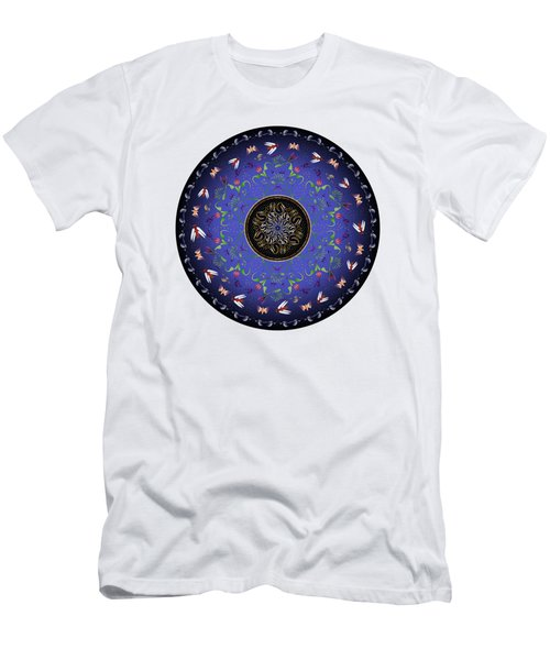 Circularium No 2717 Men's T-Shirt (Slim Fit) by Alan Bennington