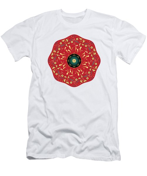 Circularium No. 2736 Men's T-Shirt (Athletic Fit)