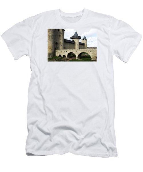 Citie De Carcassone Men's T-Shirt (Athletic Fit)