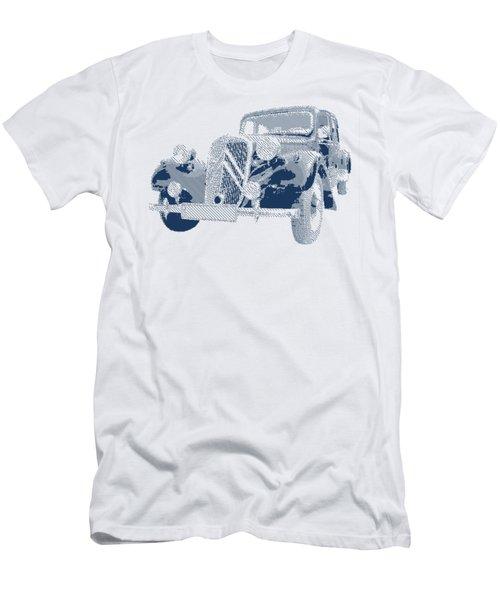 Citroen Traction Avant  - Parallel Hatching Men's T-Shirt (Athletic Fit)