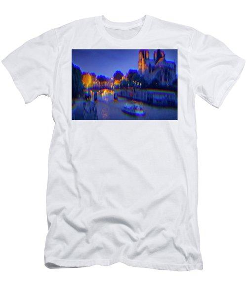 City Of Lights Men's T-Shirt (Athletic Fit)