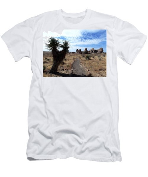 City Of Rocks - New Mexico Men's T-Shirt (Athletic Fit)