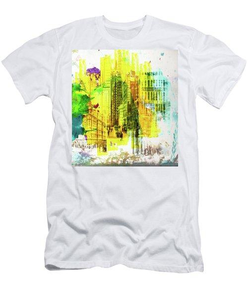 City Splash Men's T-Shirt (Athletic Fit)