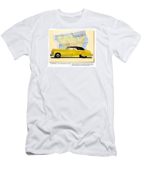 Classic Car Ads Men's T-Shirt (Athletic Fit)