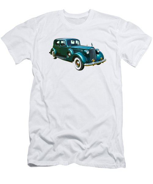 Classic Green Packard Luxury Automobile Men's T-Shirt (Slim Fit) by Keith Webber Jr