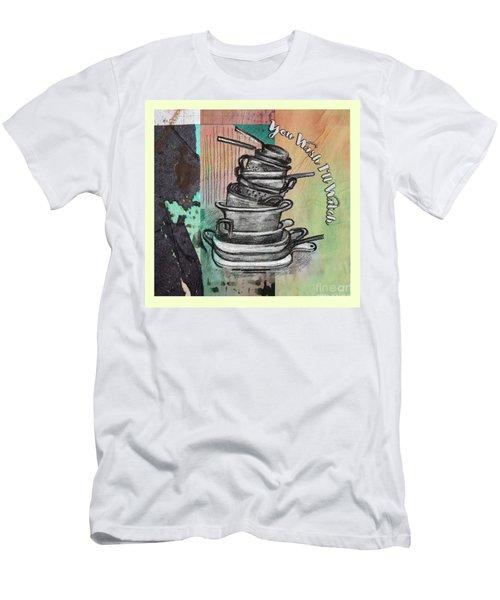 Clean Your Kitchen  Men's T-Shirt (Athletic Fit)