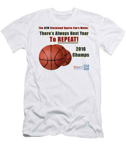 Cleveland Basketball 2016 Champs New Motto Men's T-Shirt (Athletic Fit)