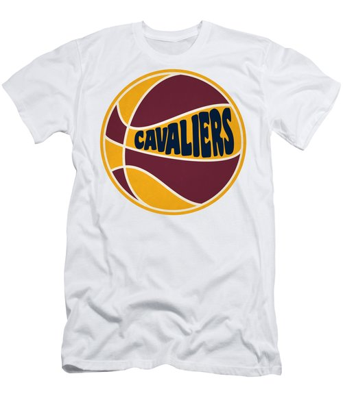 Cleveland Cavaliers Retro Shirt Men's T-Shirt (Slim Fit) by Joe Hamilton