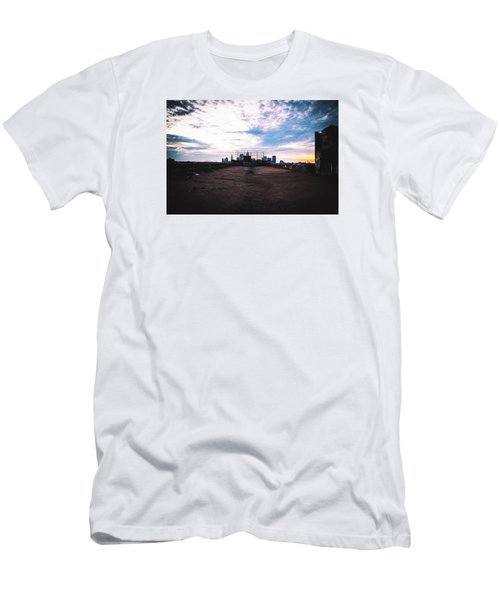 Cleveland From Afar Men's T-Shirt (Athletic Fit)