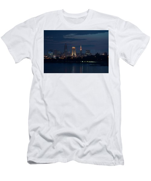 Cleveland Reflections Men's T-Shirt (Athletic Fit)
