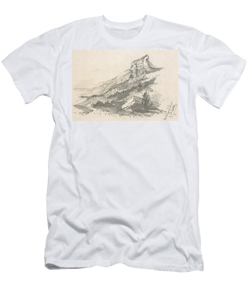 Cliff At Sainte Adresse Men's T-Shirt (Athletic Fit)