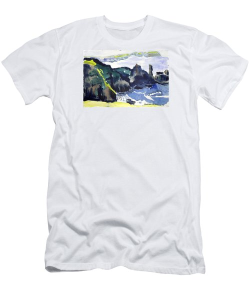 Cliffs In The Sea Men's T-Shirt (Athletic Fit)