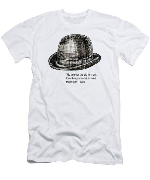 Clockwork Orange Quote Tee Men's T-Shirt (Athletic Fit)